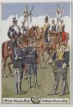 Künstler-AK 1. und 3. Garde-Ulanen-Regiment Paul Pietsch Potsdam 1940