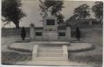 AK Foto Božanov Barzdorf Kriegerdenkmal b. Braunau Broumov Tschechien 1920 RAR