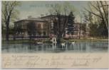 AK Lissa in Posen Kgl. Comenius-Gymnasium Leszno Polen 1903