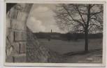 AK Foto Josefov Ortsansicht Blick über Wiese Josefstadt Jaroměř Tschechien 1933