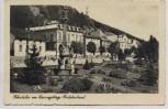 AK Foto Schatzlar im Riesengebirge Ortsansicht mit Denkmal Žacléř Sudetenland Tschechien 1941