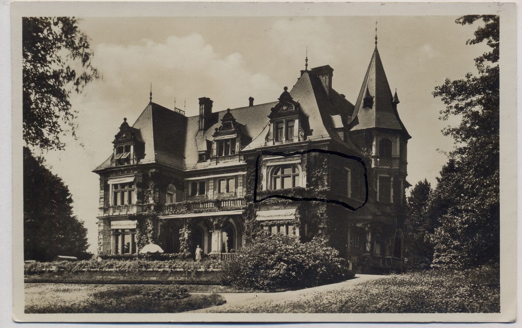 Cronberg Kronberg Taunus Haus Villa Meister ansichtskarten